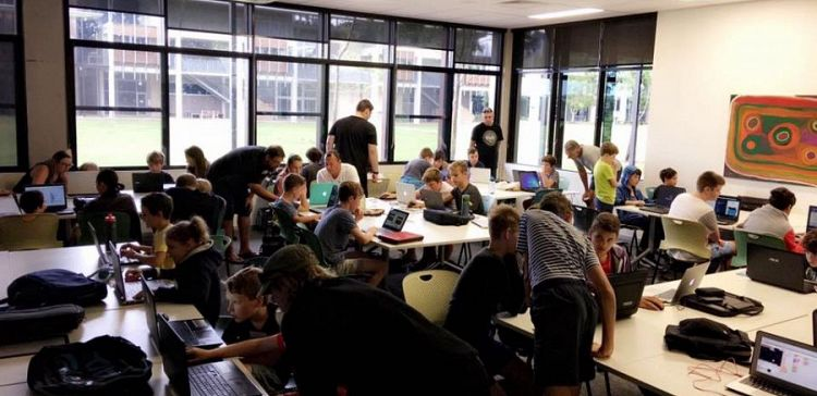 Kids on the Sunshine Coast love CoderDojo